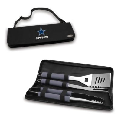 Picnic Time® Dallas Cowboys Metro BBQ Tote with Tools in Black