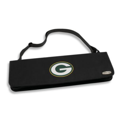 Picnic Time® Green Bay Packers Metro BBQ Tote with Tools in Black