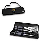 Picnic Time® Jacksonville Jaguars Metro BBQ Tote with Tools in Black
