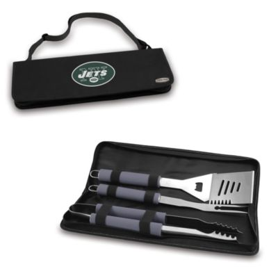 Picnic Time® New York Jets Metro BBQ Tote with Tools in Black