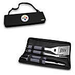 Picnic Time® Pittsburgh Steelers Metro BBQ Tote with Tools in Black