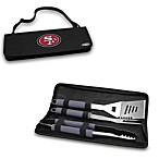 Picnic Time® San Francisco 49ers Metro BBQ Tote with Tools in Black
