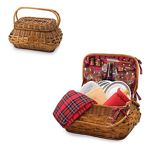 Picnic Time Highlander Picnic Basket (Tampa Bay Buccaneers)