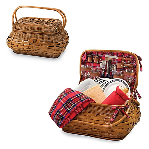 Picnic Time Highlander Picnic Basket (Oakland Raiders)