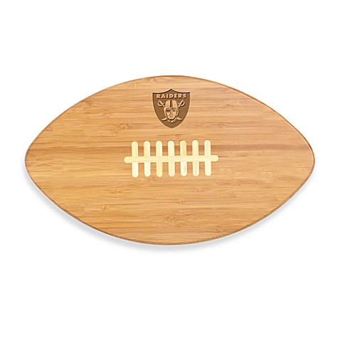 Picnic Time® NFL Oakland Raiders Touchdown Pro! Cutting Board