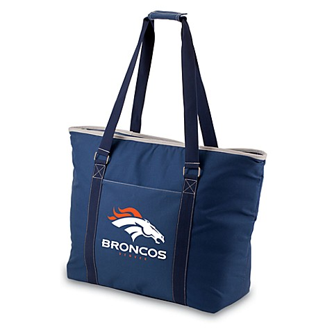 Picnic Time® Tahoe Denver Broncos Insulated Cooler Tote in Navy Blue