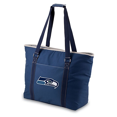 Picnic Time® Seattle Seahawks Tahoe Insulated Cooler Tote in Navy Blue