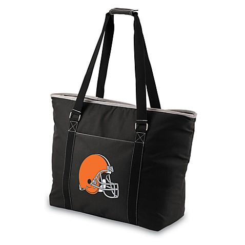 Picnic Time® Tahoe Cleveland Browns Insulated Cooler Tote in Black