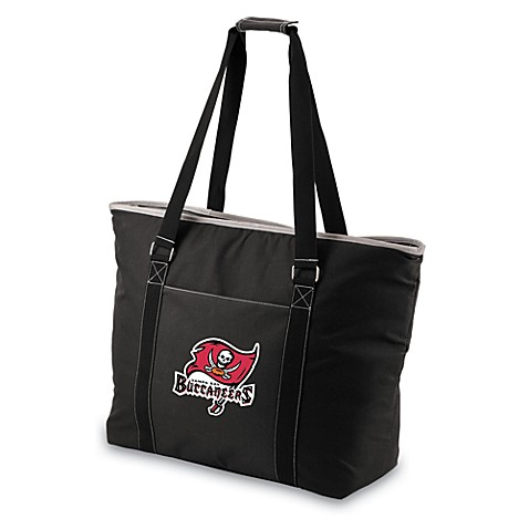 Picnic Time® Tahoe Tampa Bay Buccaneers Insulated Cooler Tote in Black