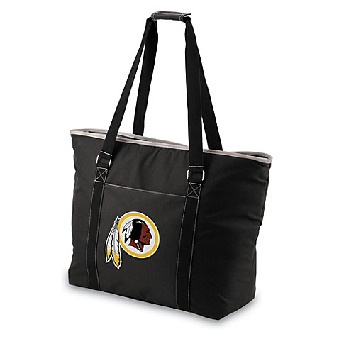 Picnic Time® Tahoe Washington Redskins Insulated Cooler Tote in Black