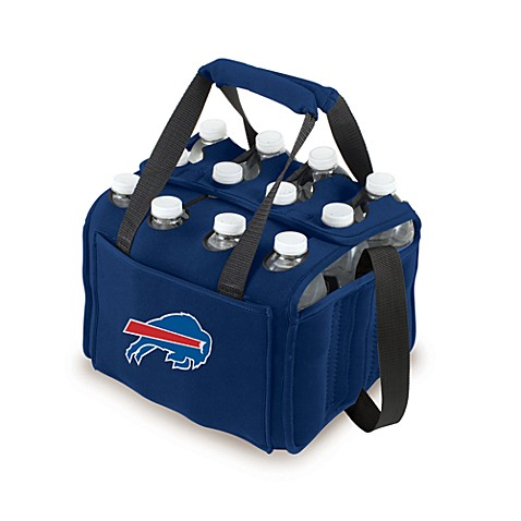 Picnic Time 12-Pack Insulated Drink Tote - Buffalo Bills (Navy Blue)
