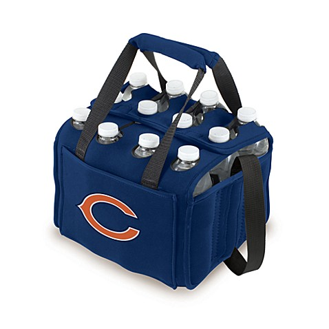 Picnic Time 12-Pack Insulated Drink Tote - Chicago Bears (Navy Blue)