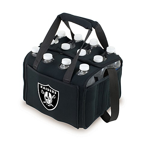 Picnic Time 12-Pack Insulated Drink Tote - Oakland Raiders (Black)