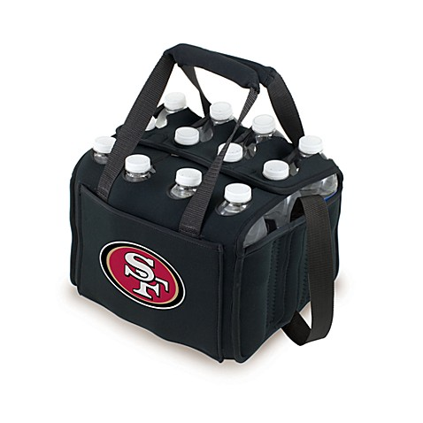 Picnic Time 12-Pack Insulated Drink Tote - San Francisco 49ers (Black)