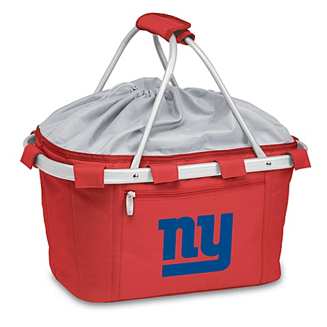 Picnic Time® New York Giants Metro Insulated Basket in Red