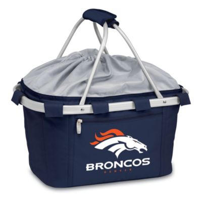 Picnic Time® Denver Broncos Metro Insulated Basket in Navy Blue