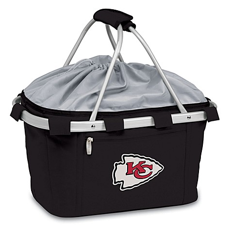 Picnic Time® Kansas City Chiefs Metro Insulated Basket in Black