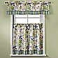Lagoon Kitchen Window Curtain Tier Pairs