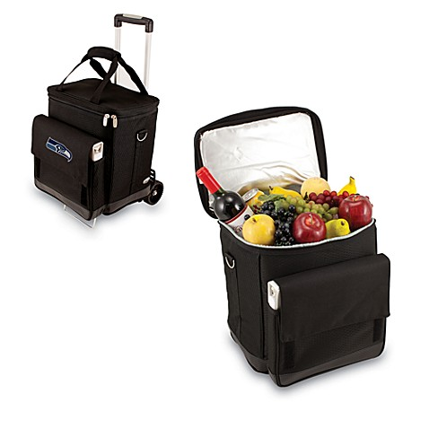 Picnic Time® Cellar with Trolley Insulated Cooler in Seattle Seahawks