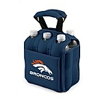 Picnic Time® Denver Broncos Six Pack Beverage Cooler in Navy