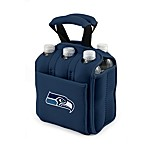 Picnic Time® Seattle Seahawks Six Pack Beverage Carrier in Navy