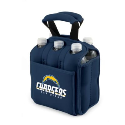 Picnic Time® San Diego Chargers Six Pack Beverage Carrier in Navy