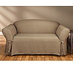 Sure Fit® Mason Cocoa Relaxed Fit Furniture Slipcovers