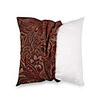 MYOP McQueen 20-Inch Square Toss Pillow Cover in Red