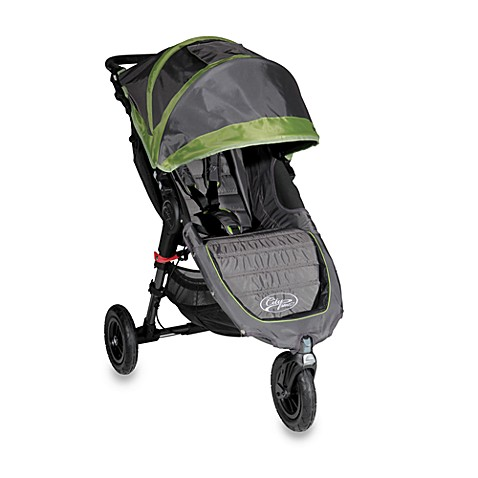 Baby Jogger™ City Mini GT Single Stroller in Shadow/Green