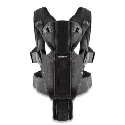 BABYBJORN® Baby Carrier Miracle in Black Mesh