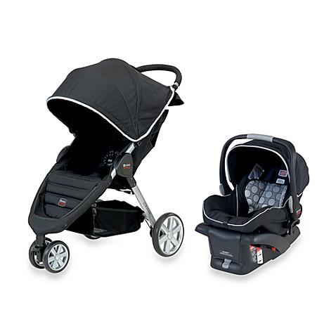 B Agile Infant Car Seat Receivers