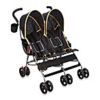 Delta LX Side by Side Umbrella Stroller in Orange