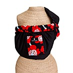 Dr. Sears Adjustable Sling by Balboa Baby® in Black with Red Poppy Trim