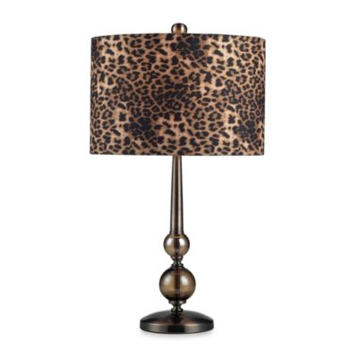 Leopard Print Modern Table Lamp