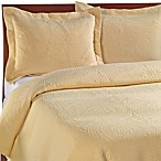 Vue™ Royal Medallion Matelasse Coverlet, 100% Cotton - Sunshine