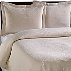Vue™ Royal Medallion Matelasse Coverlet, 100% Cotton - Ivory
