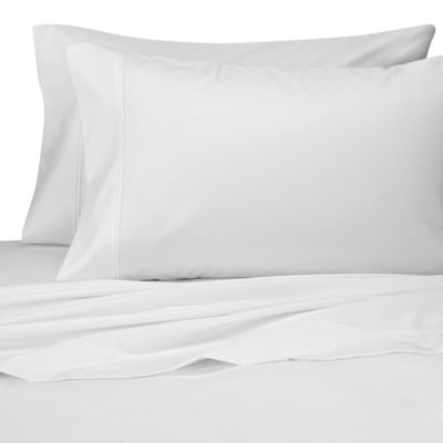 Perfect Touch Queen Sheet Set in White