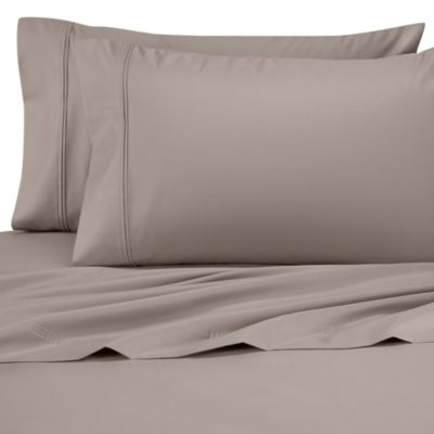 Perfect Touch Queen Sheet Set in Silver