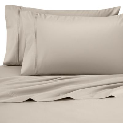 Perfect Touch Standard Pillowcase in Cappucino  (Set of 2)