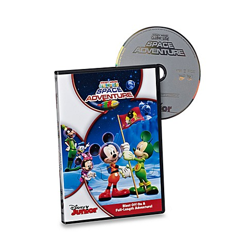 Mickey Mouse Clubhouse Space Adventure DVD
