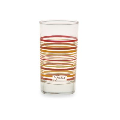 Fiesta® Multi-Color Stripe 7-Ounce Juice Glass