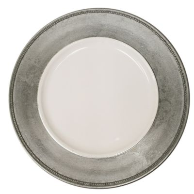 Charge It by Jay! Silver Charger Plates (Set of 4)