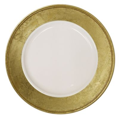 Charge It by Jay! Gold Charger Plates (Set of 4)