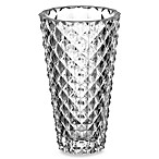 Denizli Diamond 10-Inch Crystal Vase