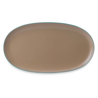 Wedgwood® Nature's Canvas Sandstone 15 3/4-Inch Oval Platter