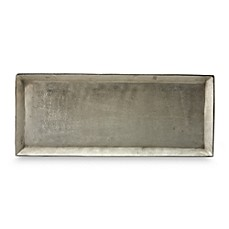 Donna Karan Lenox® Burnished Metal Large Rectangular Tray