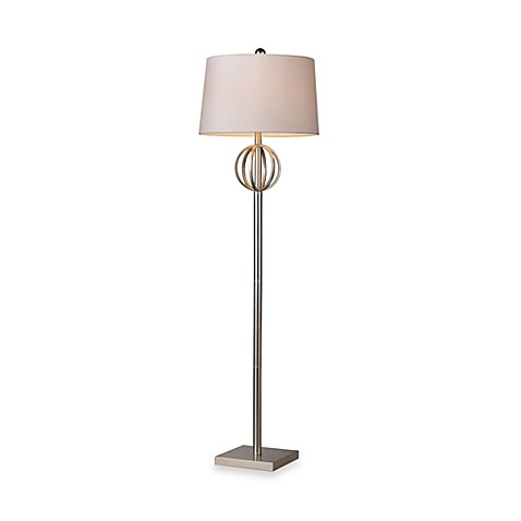 Dimond Lighting Donora Silver Lead Floor Lamp