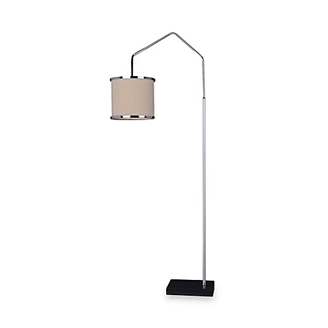 Dimond Lighting Swarthmore Arc Chrome Floor Lamp