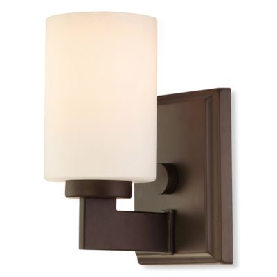 Quoizel® Taylor 1-Light Bathroom Sconce in Western Bronze