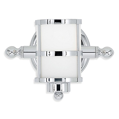 Quoizel®  Tranquil Bay 1-Light Bath Fixture in Polished Chrome